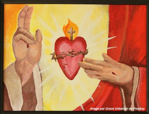 Plongeons dans le Cœur débordant d'amour de Jésus !